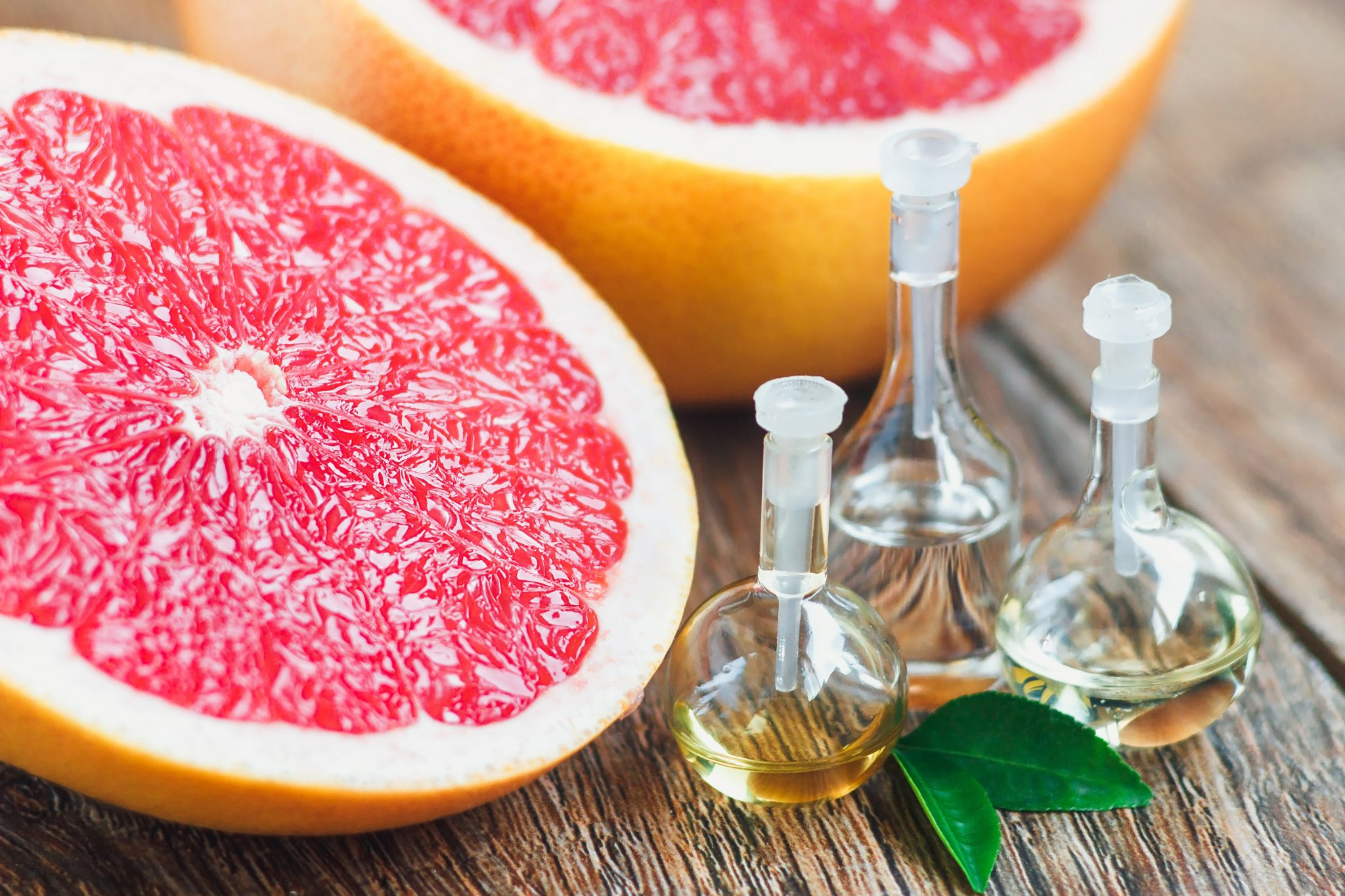 organic white grapefruit essential oil