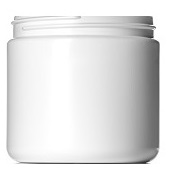 16 oz white jar