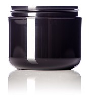 4 ozBlack PP double wall jar 70_400