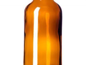 4oz boston round amber